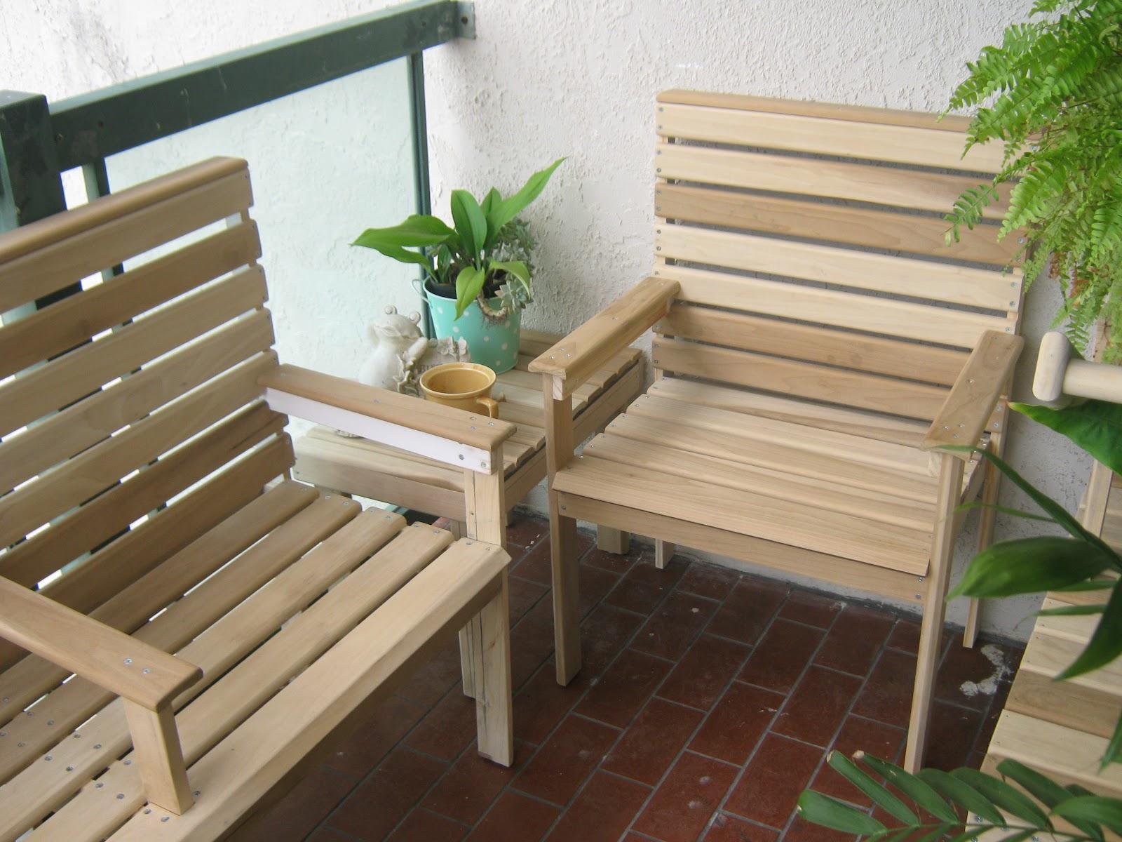 Fernandez cabinet muebles en madera para balcon o for Muebles para balcon