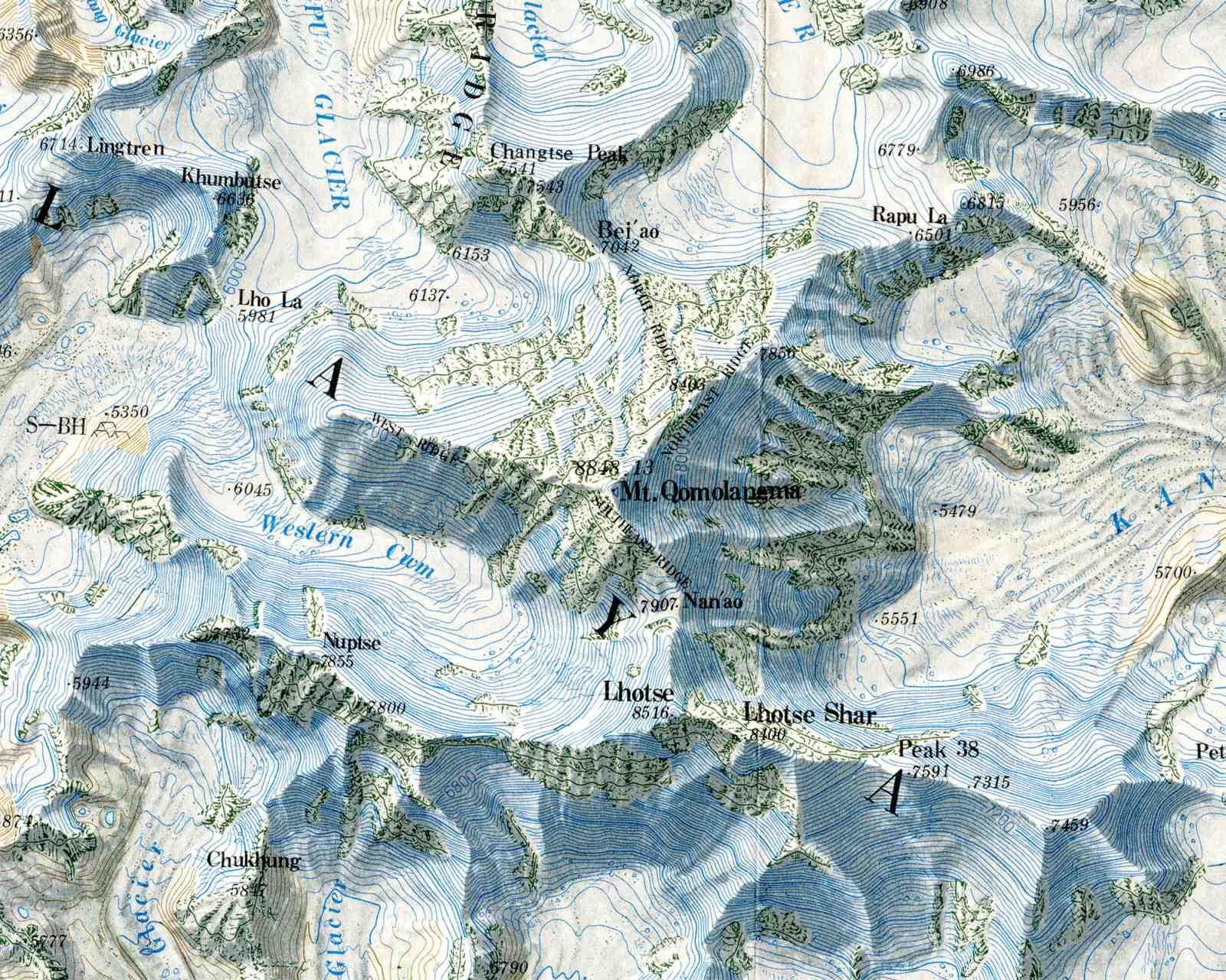 Online Maps: Mount Everest Maps