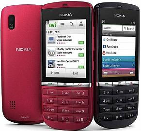 Nokia Asha 300 Touch and Type Mobile