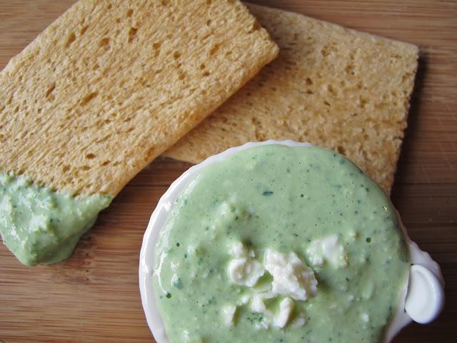 Raw Kale Feta & Artichoke Dip