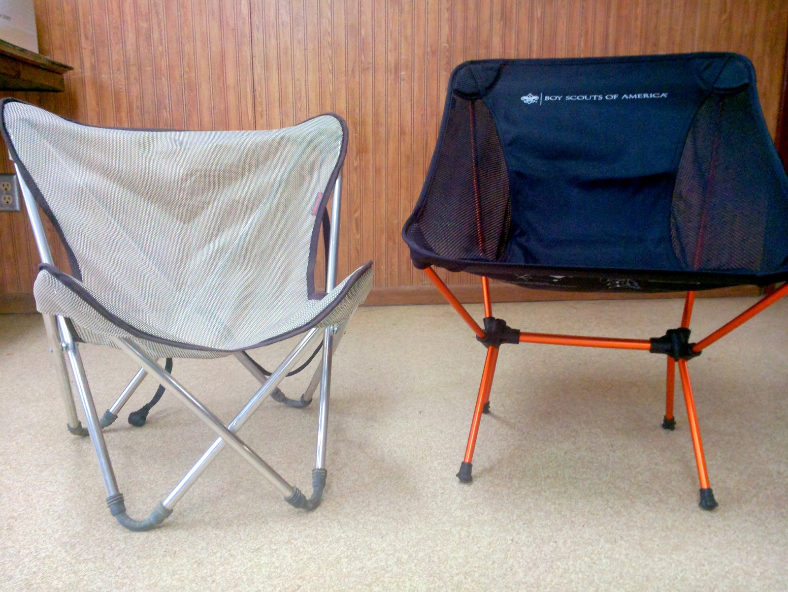 Backpacking chair ultralight - The Bsa Chair Is 13 5 Off The Floor Compared To The Lafuma S 8 5