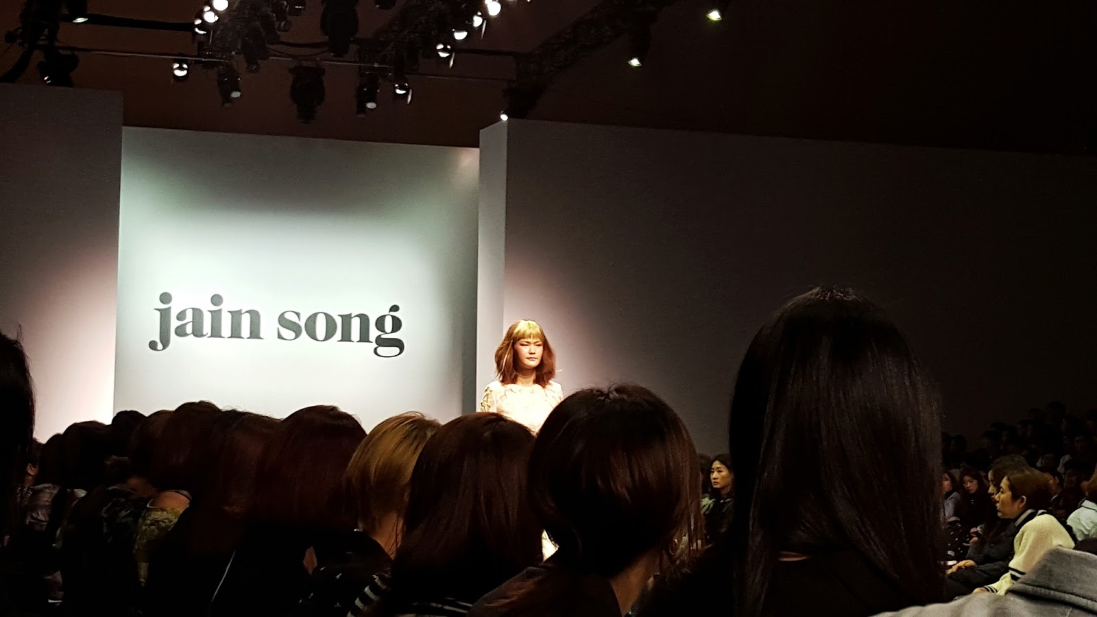 Seoul Fashion Week: Jain Song
