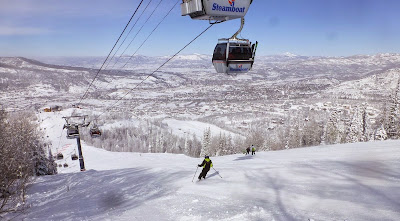Daniel skiing Heavenly Daze at Steamboat, CO, Feb 19-23, 2015.  The Saratoga Skier and Hiker, first-hand accounts of adventures in the Adirondacks and beyond, and Gore Mountain ski blog.