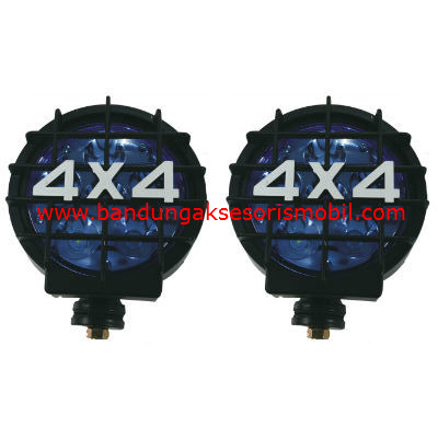 Lampu Rally 4x4 LED Biru