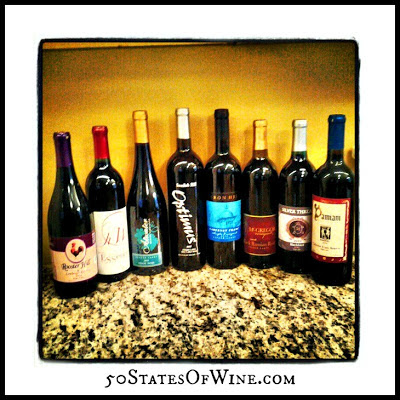 Finger Lakes Wine Alliance Virtual Tasting Reds