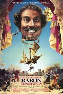 Las Aventuras del Barón Munchausen Poster