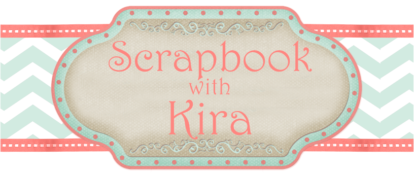 Scrapbook with Kira