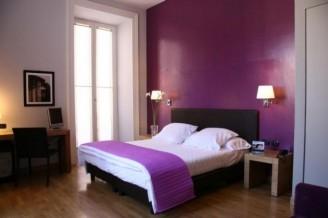 Dormitorios morados ideas para decorar dormitorios con - Ideas para pintar habitaciones ...