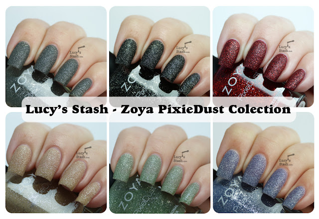 Lucy's Stash - Zoya PixieDust Collection