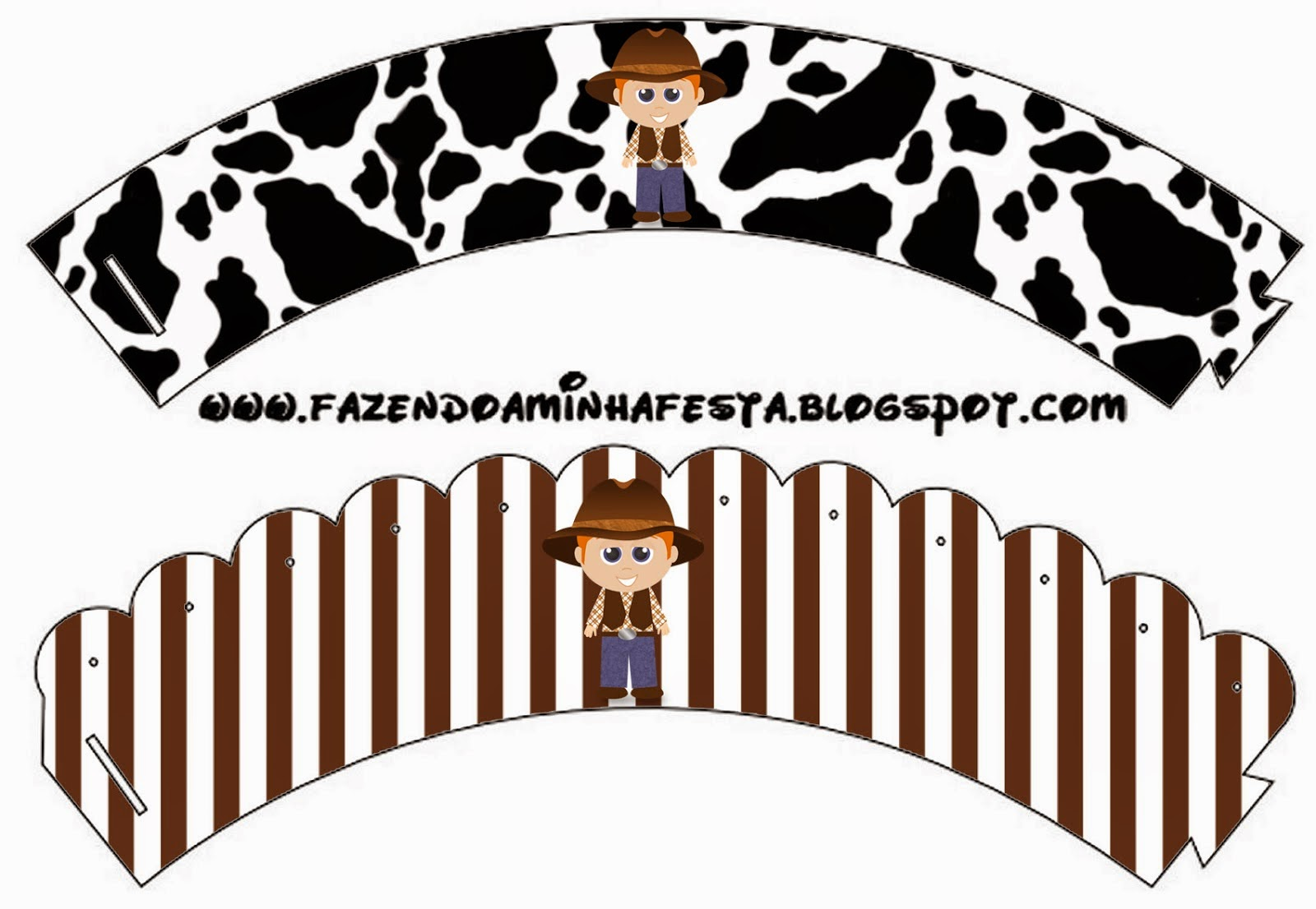 cowboy or western party free party printables oh my