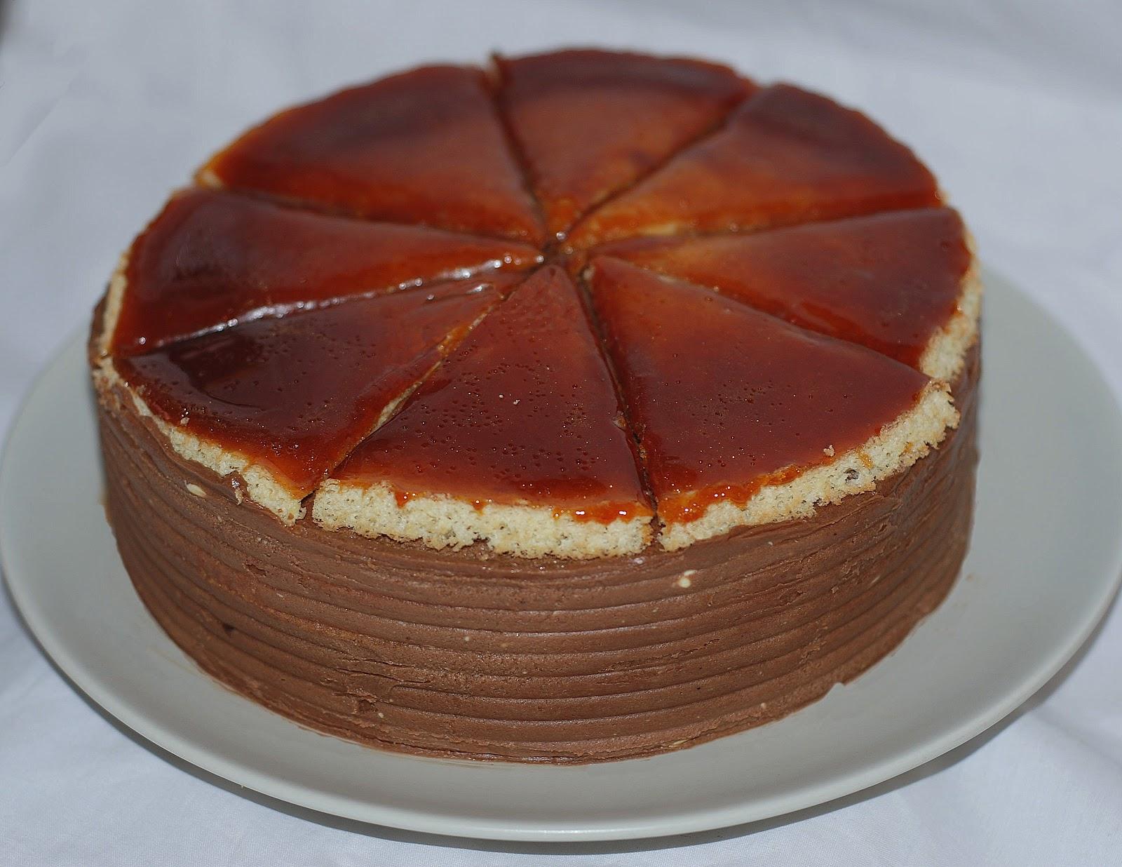 Bitter-Sweet Bakery: Dobos Torte/ Dobos Torta