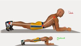 تمرين تقوية وإبراز عضلات البطن 1