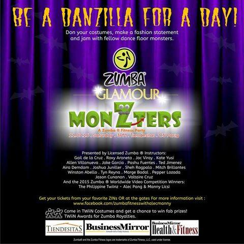 Glamour Monzters Zumba Fitness Party