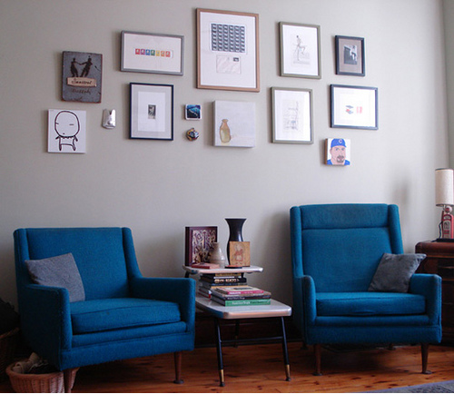 Gis neues Wohnzimmer: Graue Töne
