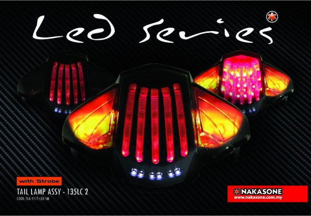 warah Tail Lamp Variasi New Jupiter Z dan New Jupiter Mx handal title=