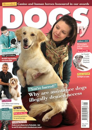 May 2014 edition of Dogs Today