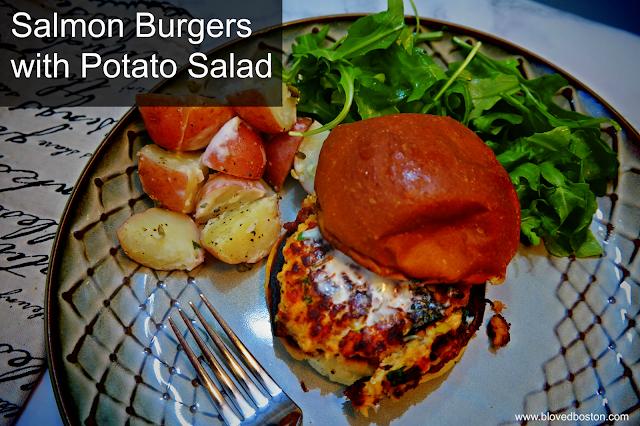 Salmon Burgers | Blue Apron