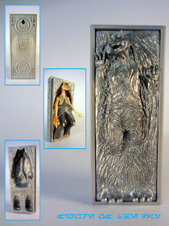 Jar Jar Binks in Carbonite