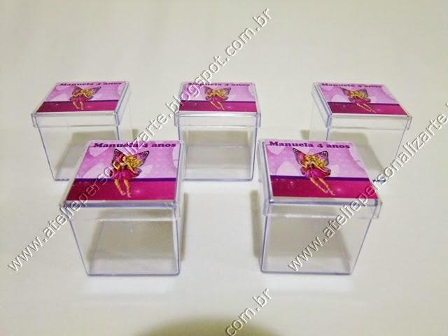 Lembrancinhas Personalizadas Barbie Butterfly - Caixinhas