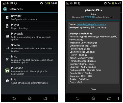 JetAudio Plus v5.2.0 Apk for Android