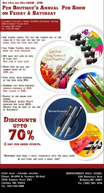 Pen Boutique's Annual Pen Show