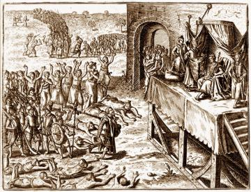 a comparison of two religious groups native americans and puritans Jamestown and plymouth: compare and contrast  native americans  contributed much to our present american heritage of law, religion, government, custom and .