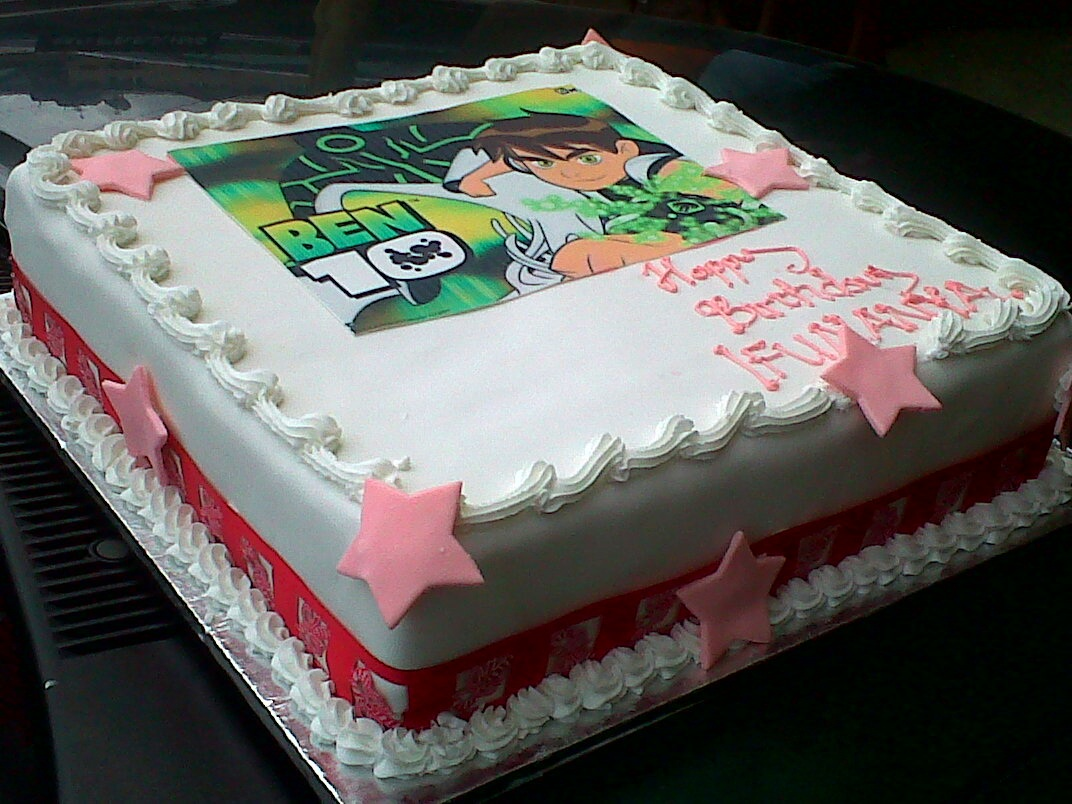 Cake Factory Ben 10 Girls Birthday Cake