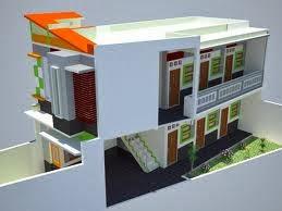 Contoh Konsep Desain Rumah Kost Unik