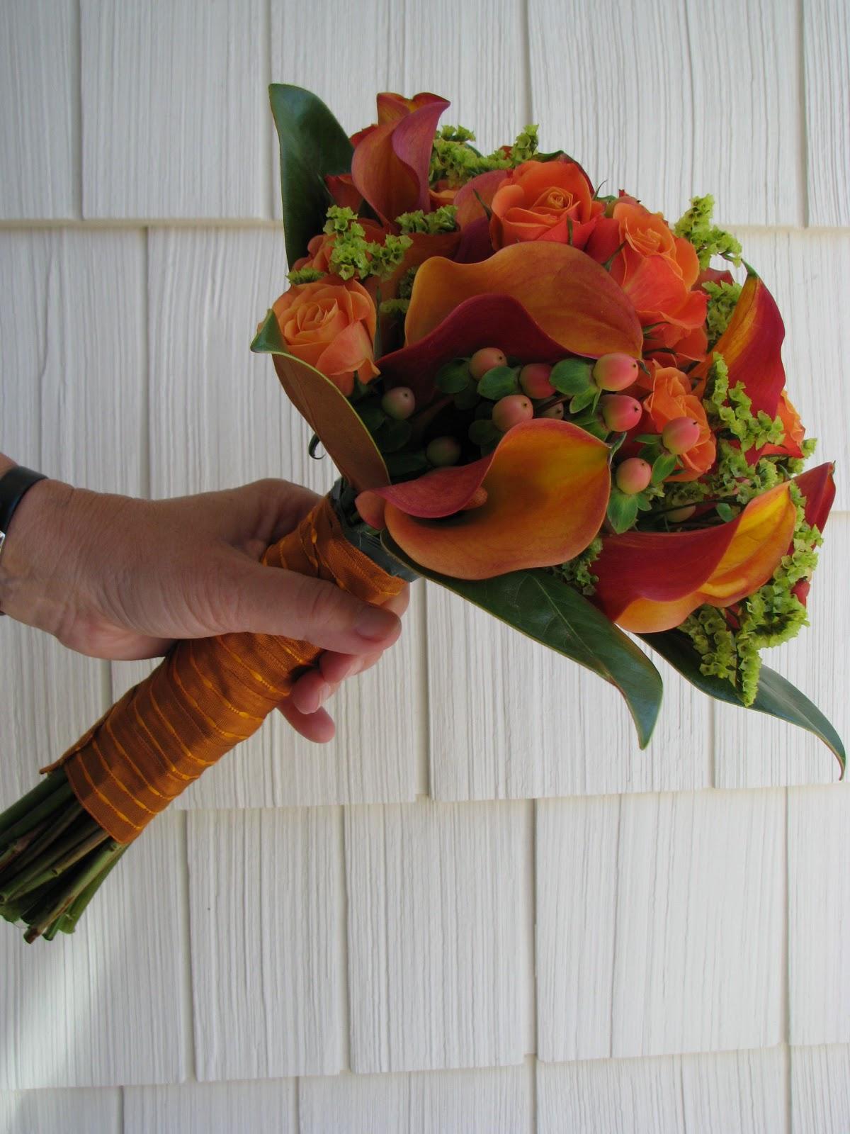 Fall Wedding Bouquets Bridesmaids : Violettas stunning fall bridesmaids bouquet