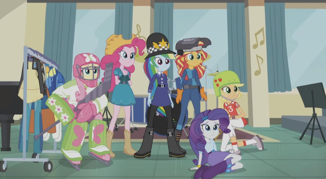 Equestria Girls Friendship Games Trailer First Thoughts