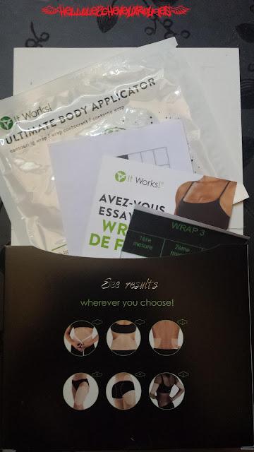 Contenu de la box Wrap emballage et ce qu'elle contient