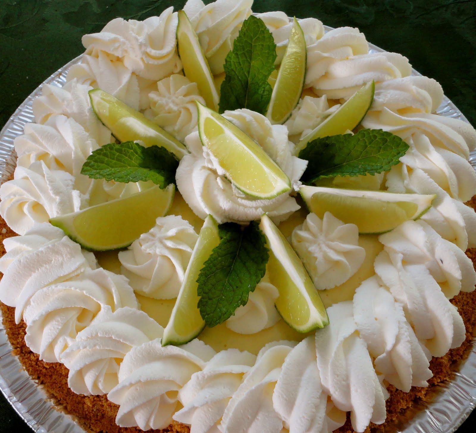 Cuisine with Chilean flavor: Frozen Key Lime Pie