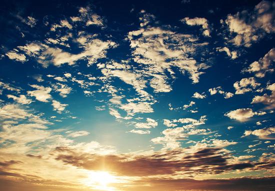 Gambar Awan Dan Pemandangan Langit Gambar Kata Kata
