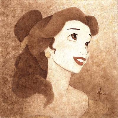How To Create Belles Hairstyle From Beauty And The Beast : Lisa freemont pages: animated angels~disneys belle inspired