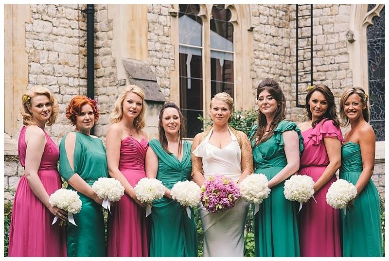 Pink And Green Wedding Dress 49 Cool My bridesmaids u dresses