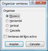 Organizar ventanas