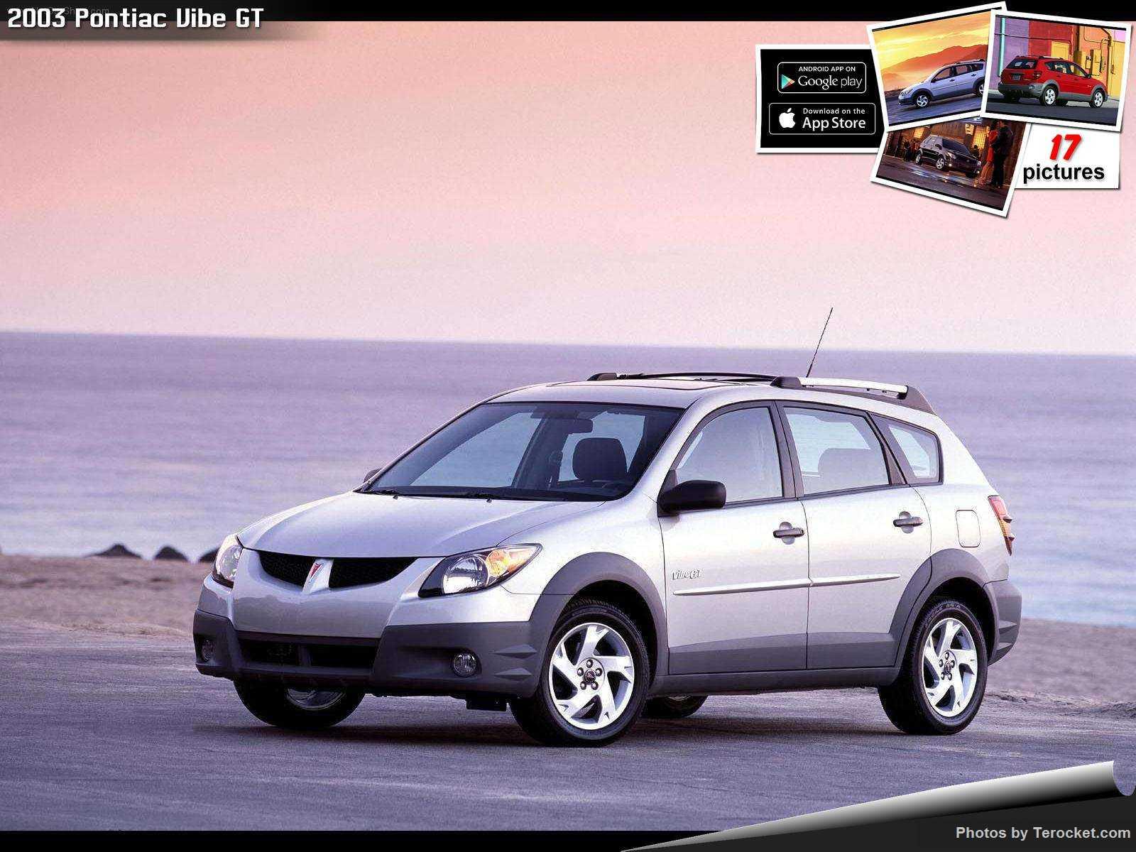 Hình ảnh xe ô tô Pontiac Vibe GT 2003 & nội ngoại thất