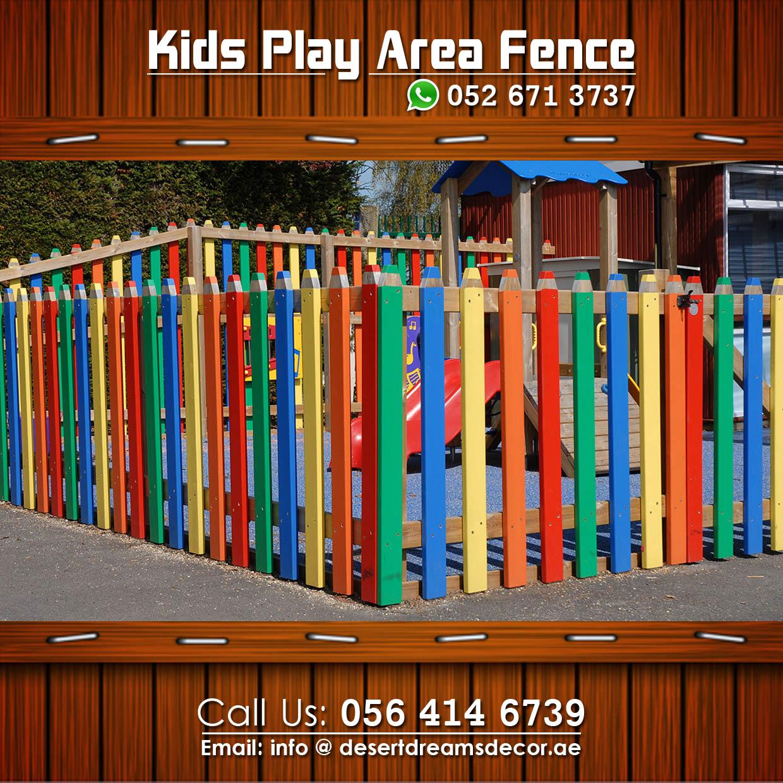 Elegant Creative Wooden Fence Uae