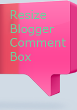 Resize Blogger Comment Box