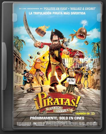 The Pirates! Band Of Misfits (DVDRip Español Latino) (2012)
