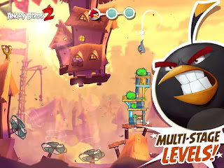 Angry Birds 2 2.2.1 Mod Apk (Unlimited Money/Crystals)