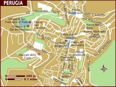 Mappa Politica di Perugia