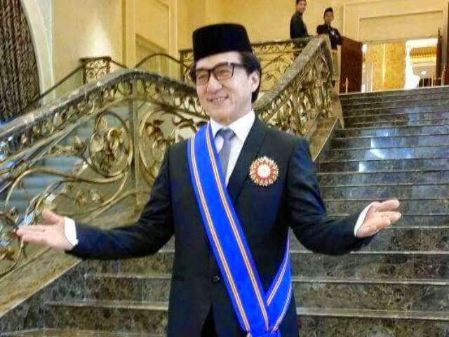 Jackie Chan Kini Bergelar Datuk