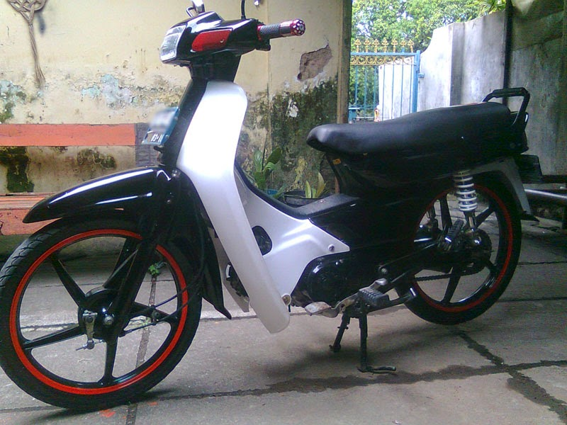modifikasi motor honda grand 97  paling bagus