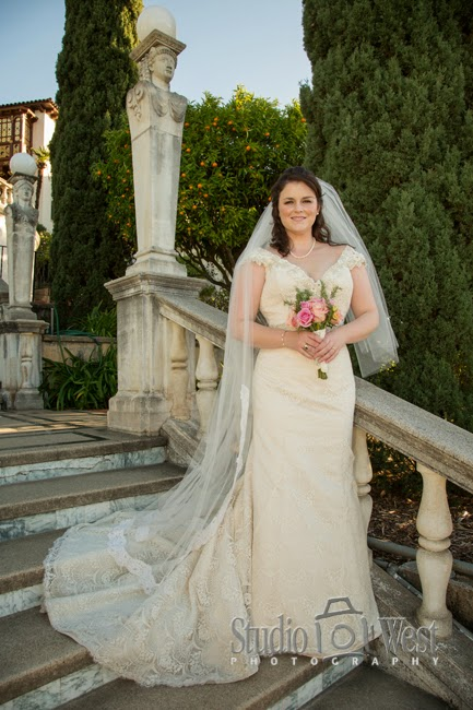 Hearst Castl - San Luis Obispo Wedding Photographer - San Simeon Wedding Venue - studio 101 west