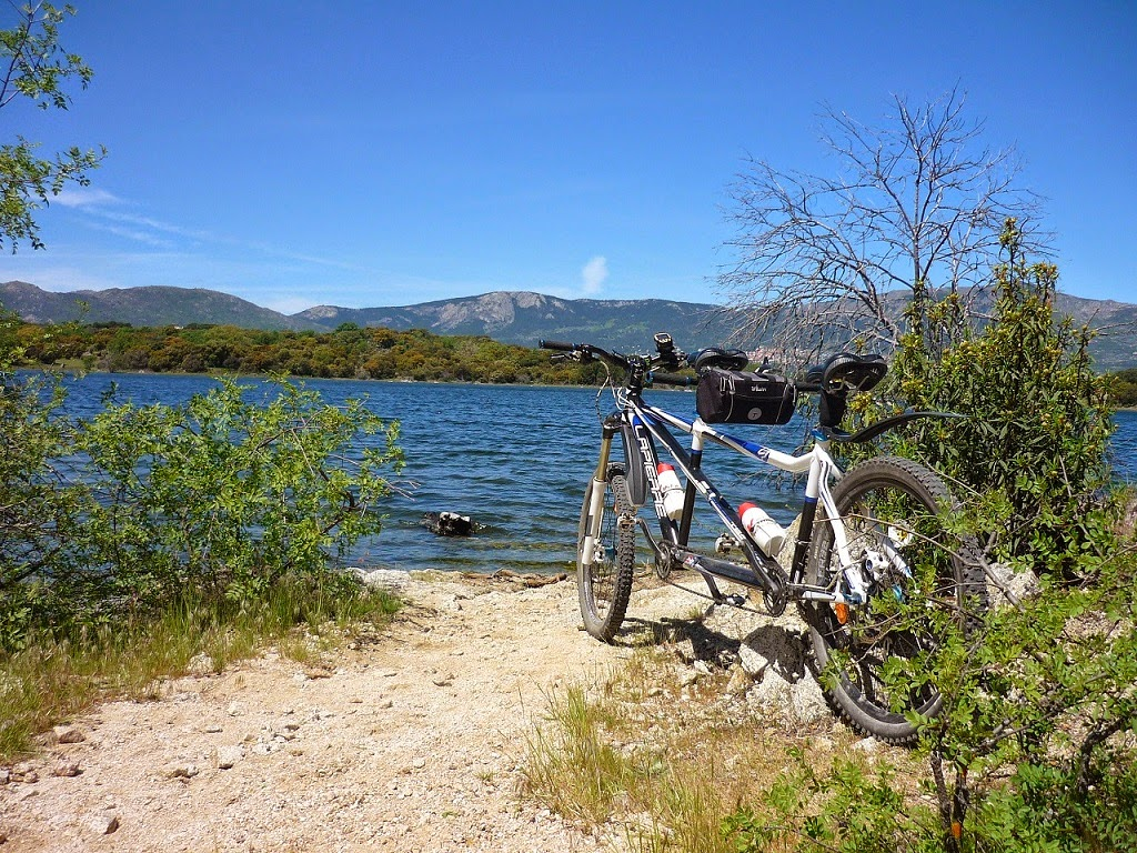 Blog Go Tandem - Vuelta embalse Valmayor