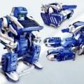 Mainan Robot Solar 3 In 1, Bisa Dirakit Dgn Bentuk Berbeda