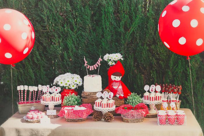Una fiesta de Caperucita Roja