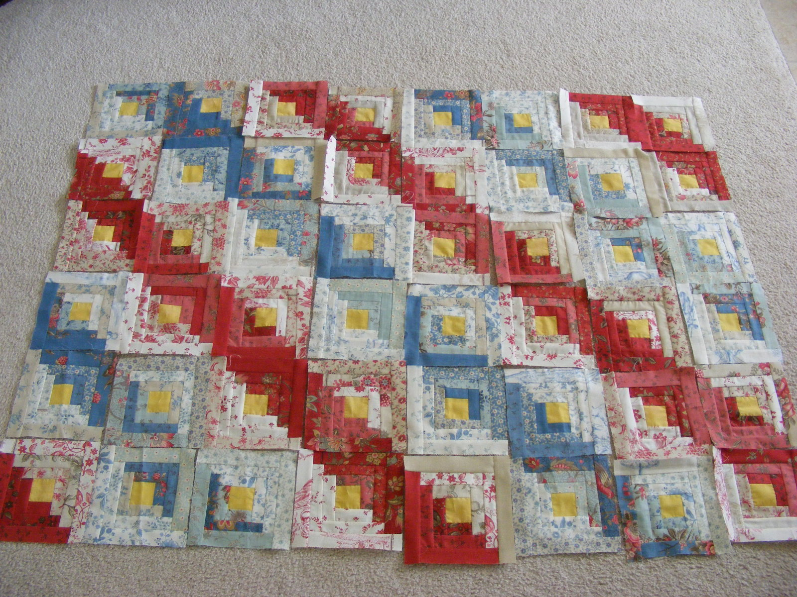 Very Impressive portraiture of Camp Follower Bags and Quilts: Log Cabin Quilt . with #89302E color and 1600x1200 pixels
