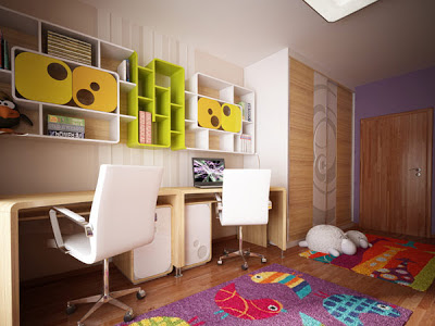 Desain Interior Kamar Tidur Prempuan Umur 3 Tahun